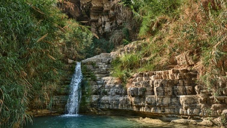 Ein-Gedi, egy csodálatos oázis a Szentföldön