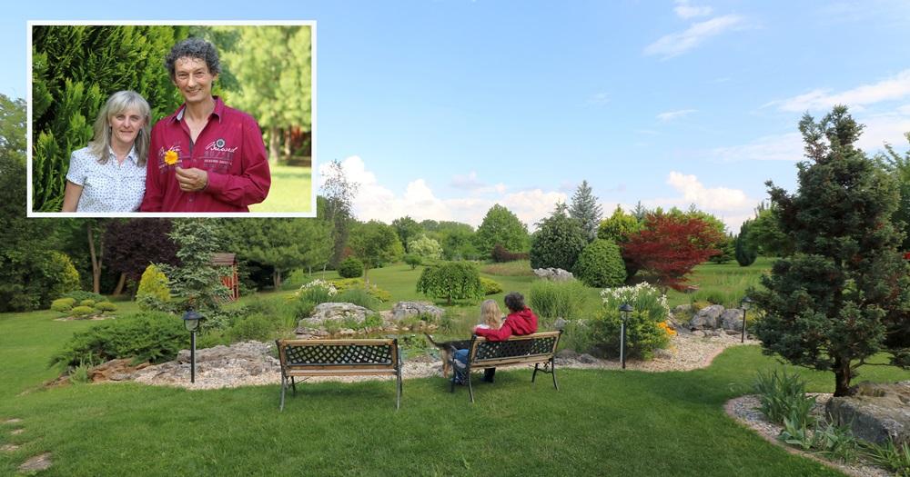 A kert látványa, az illatok és a hangok rendkívül inspiratívak és pihentetőek!