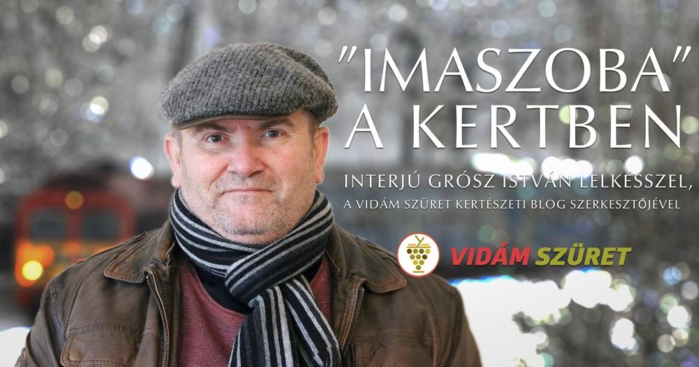 """""""Imaszoba"""" a kertben - interjú Grósz István lelkésszel, a Vidám Szüret szerkesztőjével"""