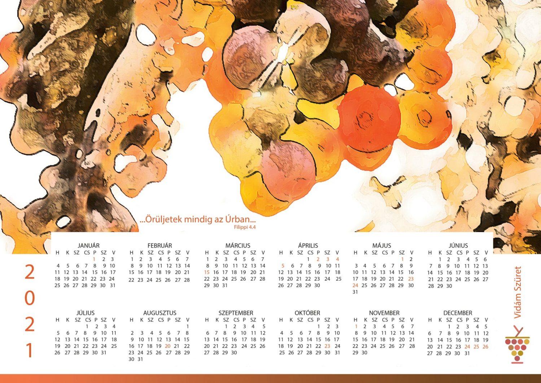 Éves naptár